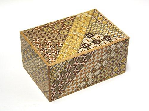 Japanese Puzzle Box 54steps with secret compartment Koyosegi