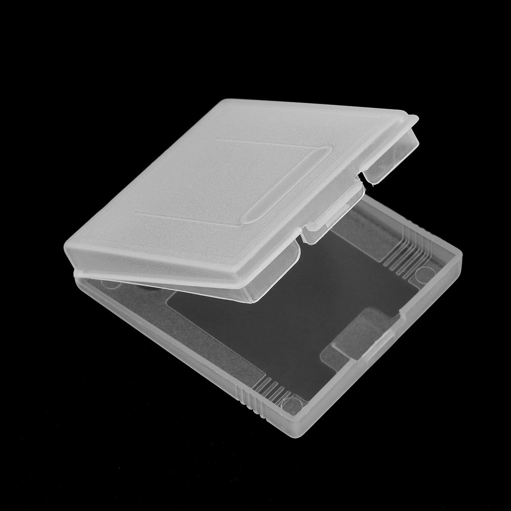 iMinker carte de jeu en plastique clair de la cartouche de stockage cas bo/îte couverture de poussi/ère pour Gameboy Color Gameboy Pocket GB GBC GBP 2 pi/èces