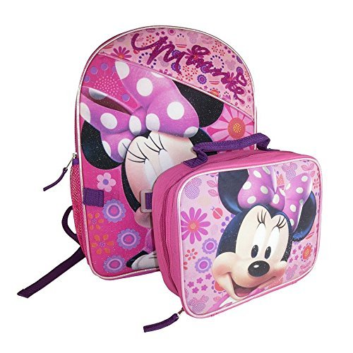 Disney's Minnie Mouse Backpack & Lunch Bag - 2 Piece Set