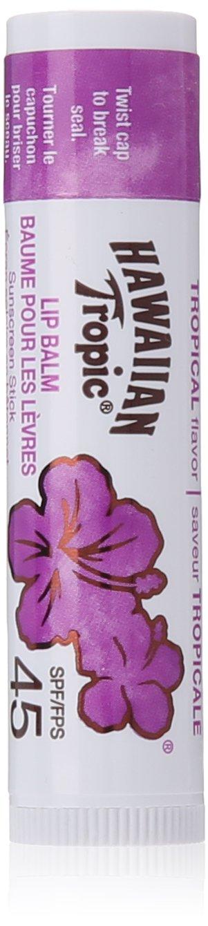 Hawaiian Tropic Tropical Lip Balm Spf 45, 4 Grams