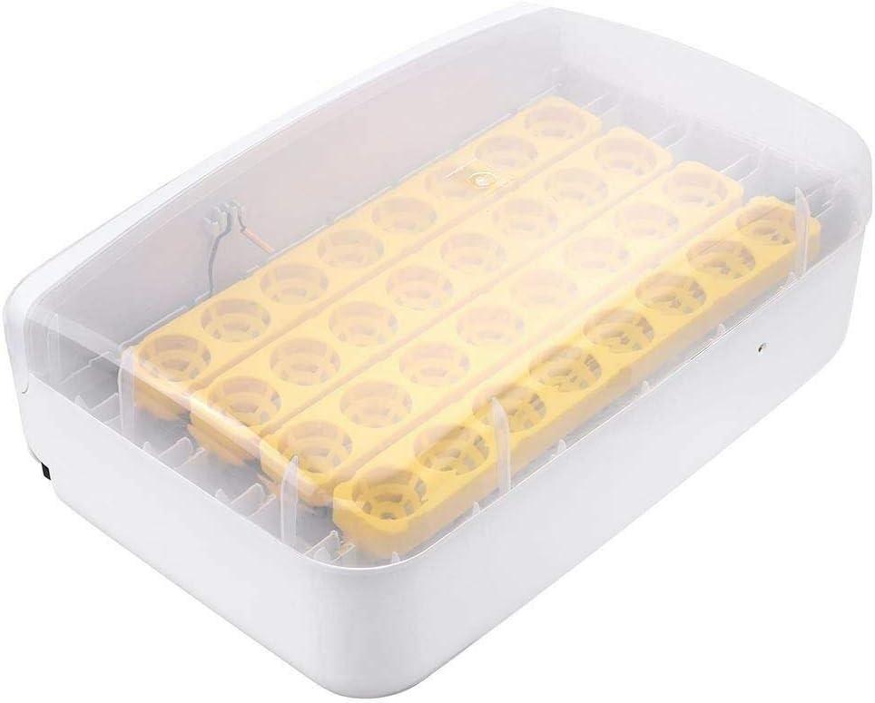 25 MOMOJA M/áquina de cr/ía Totalmente autom/ática de 32 Huevos Criadora de Campo Incubadora de reproductoras Hogar para Pato P/ájaro Pavo Huevos 50 40 cm