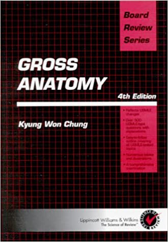 Brs Gross Anatomy Kyung Won Chung 9780683307276 Amazon Books