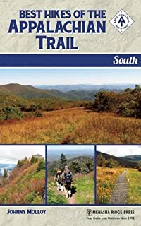 Book Cover: Best Hikes of the Appalachian Trail: South