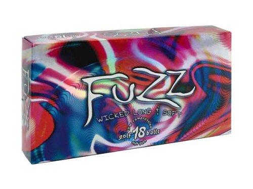 Fuzz Ball 18 Pack Low Compression Golf Balls (White), Outdoor Stuffs