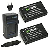 Wasabi Power Battery (2-Pack) and Charger for