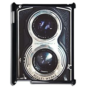 Funny Vintage Camera Ipad 2/3/4 Slim-fit Case Hard Plastic Retro Camera Ipad Cover