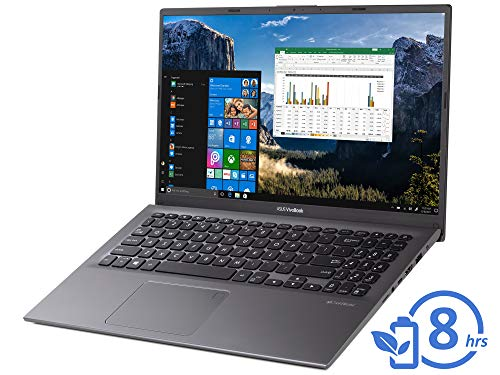 ASUS VivoBook F512DA Laptop, 15.6″ FHD Display, AMD Ryzen 3 3200U Upto 3.5GHz, 12GB RAM, 256GB NVMe SSD, Vega 3, HDMI, Card Reader, Wi-Fi, Bluetooth, Windows 10 Pro
