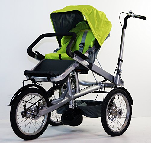 3 In 1 Stroller Tricycle - 7
