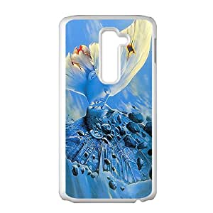 Creative Butterfly Kiss Hot Seller High Quality Case Cove For LG G2