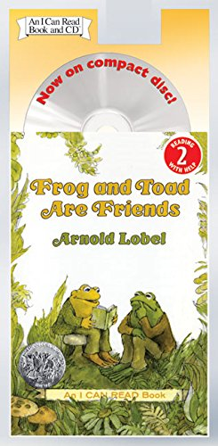 Frog and Toad Are Friends Book and CD (I Can Read Level 2)