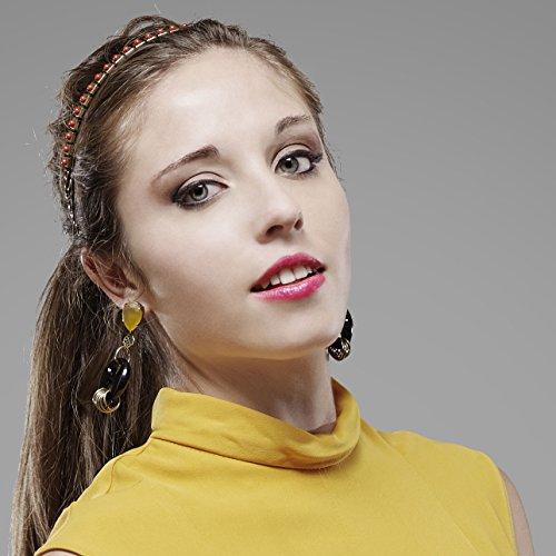 Headband Chenille (rouge)