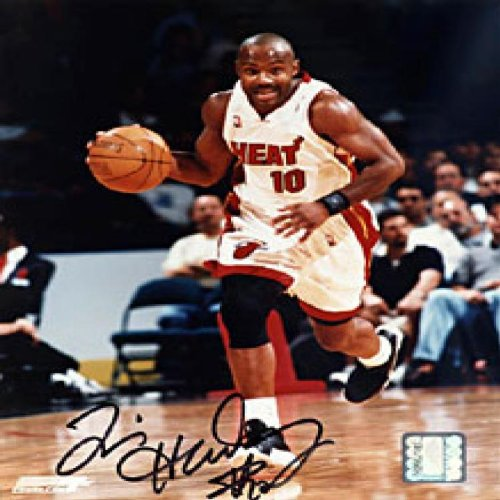 sale retailer 330c9 32127 Tim Hardaway Autographed / Signed Miami Heat 8x10 Photo at ...