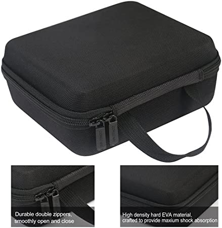Shekar Pancellent MiluoTech More Borescope//Accessories Pockets for Side View Mirror Fantronics COMECASE Hard Carrying Case for Depstech WiFi /& USB Endoscopes and Goodan Sokos