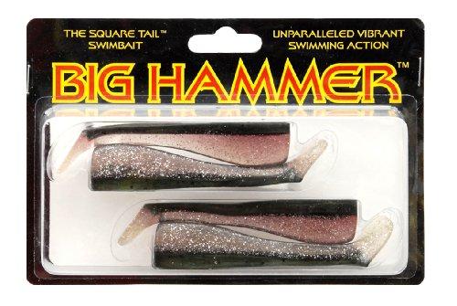 South Bend Big Hammer Swimbait, Baitfish, 4-Inch