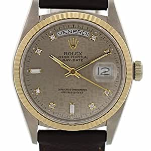 Rolex Day-Date automatic-self-wind mens Watch 18039 (Certified Pre-owned)