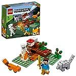 LEGO Minecraft L'Incursione della Bestia, Set di Costruzioni Ricco di Dettagli per Ragazzi 8+ Anni, Il Misterioso…  LEGO