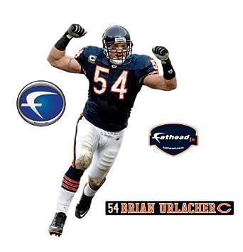 Chicago Bears Brian Urlacher Junior Wall Decal  sc 1 st  Amazon.com & Amazon.com : Chicago Bears Brian Urlacher Junior Wall Decal : Sports ...