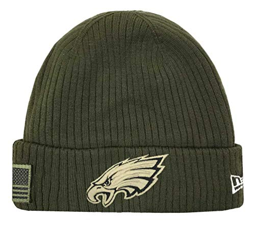 Era Knit - New Era 2018 Mens Salute to Service Knit Hat (Philadelphia Eagles)
