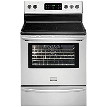 "Gallery Series 30"" Electric Smoothtop Freestanding Range with 5.7 Cu. Ft. Convection Oven Color: Stainless Steel"