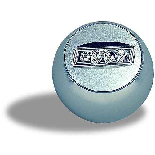 B&M 80534 QuickSilver Replacement Billet Shifter Knob with SAE Threads