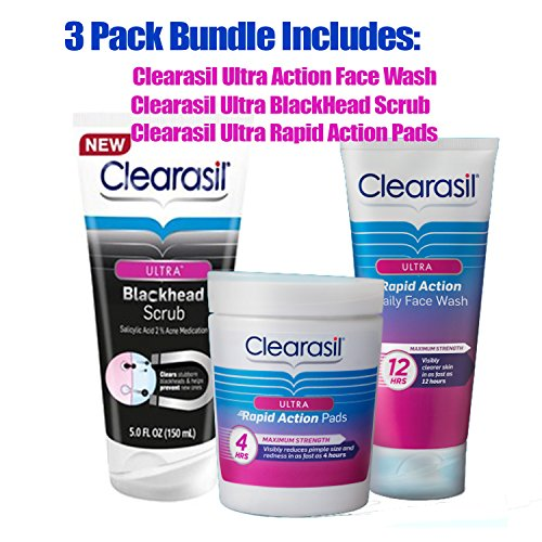 Clearasil Ultra Rapid Action Face Scrub - 7