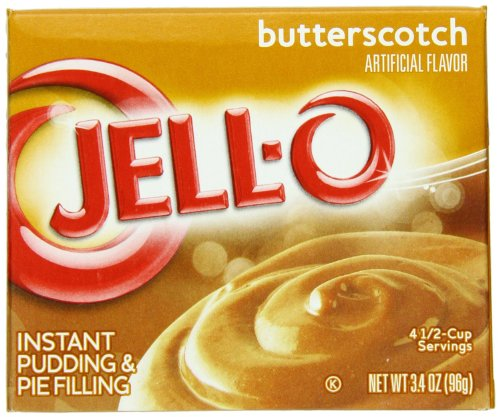 Jell-O Variety Pack of 2- Butterscotch and Sugar Free-Fat Free Cheesecake Pudding & Pie Filling Mix (1 Oz Each) ()