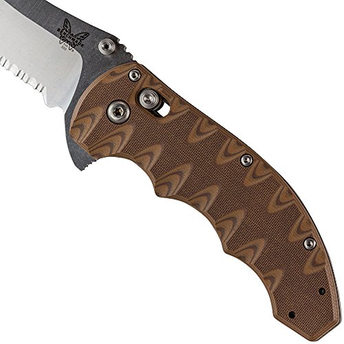 BENCHMADE 300SSN AXIS FLIPPER WITH COMBO EDGE