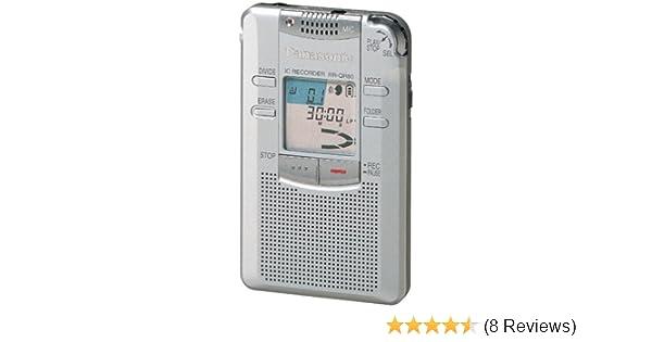 amazon com panasonic rr qr80 tapeless digital audio recorder rh amazon com