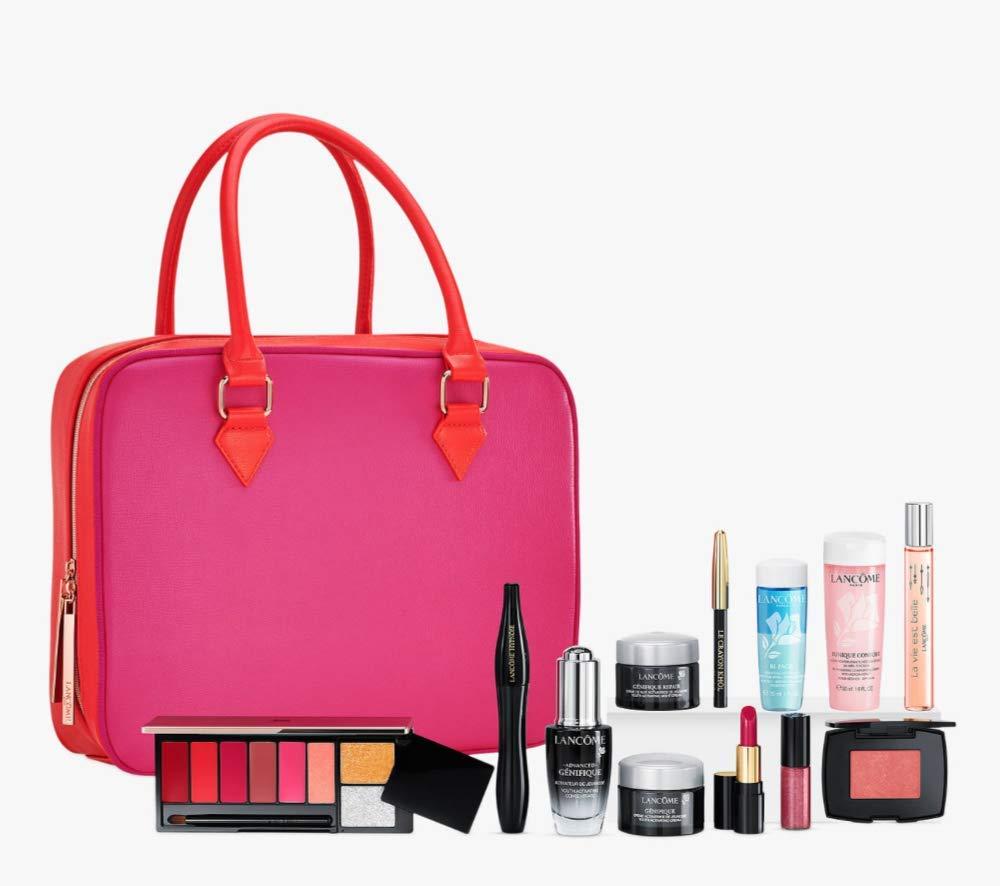 Christmas Beauty Gift Sets.Lancome Beauty Box Makeup Gift Set Christmas 2018 Amazon Co