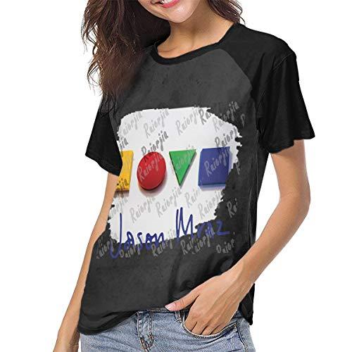 Ruierjia Womens Jason Mraz We Sing We Dance We Steal T Shirt Deep Heather