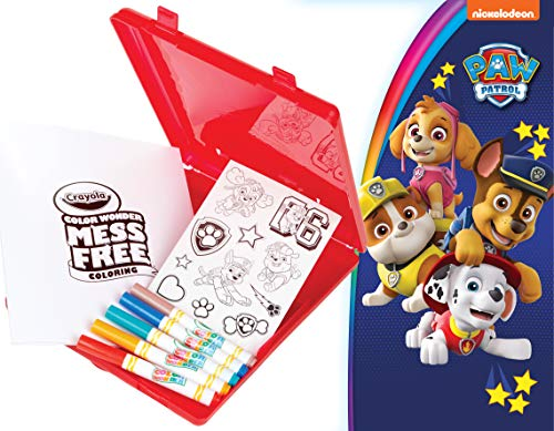 Crayola Color Wonder, Paw Patrol Coloring Book, Travel Coloring Kit, Gift for Kids 3, 4, 5, 6