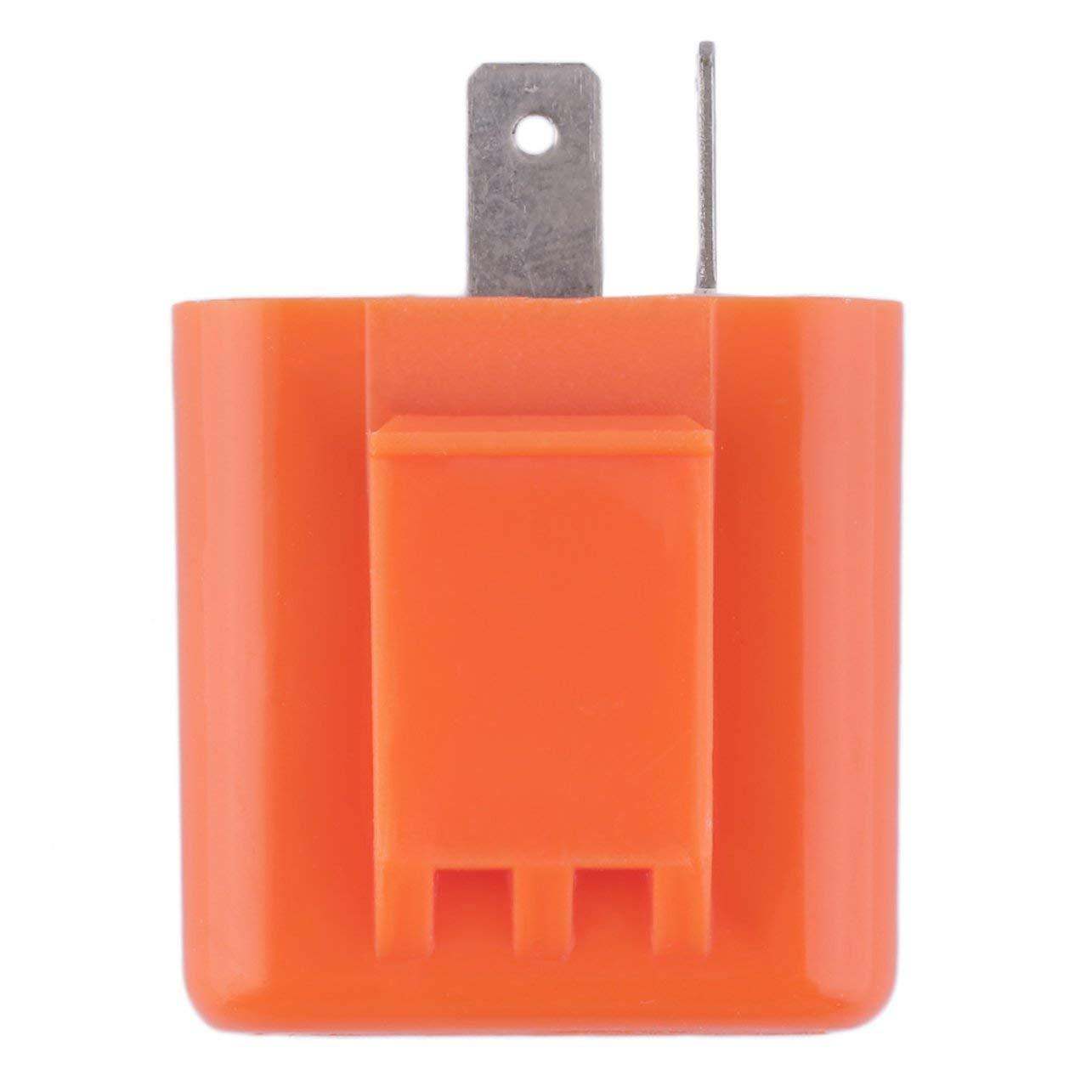 2 Pin velocidad ajustable LED intermitente del rel/é de la motocicleta indicadora de intermitencia
