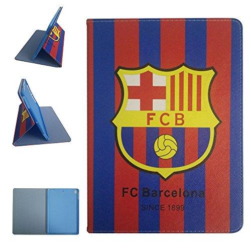 New ipad 9.7 2017 & ipad Air & ipad Air 2 Case,AFROG European Football Series Team Logo Design Flip PU Leather Case for Apple ipad Air & ipad Air 2 & new ipad 9.7 2017 ( FC Barcelona ) - Lighting Barcelona Series