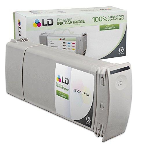 LD C4846A 80 Cyan Ink Cartridge for HP Printer
