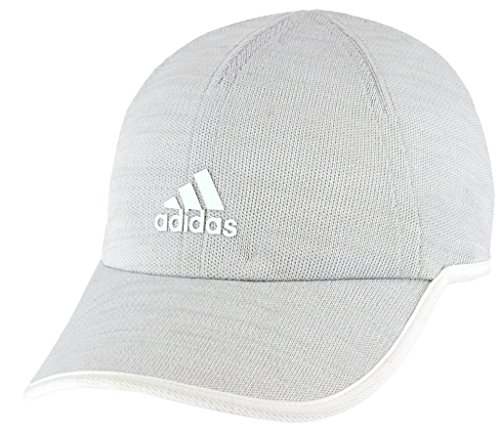 (adidas Women's Superlite Prime II Relaxed Adjustable Cap, white/clear grey, One Size)