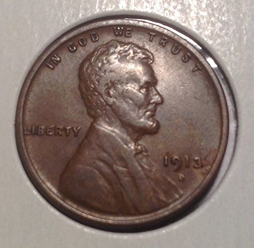1913 D Lincoln Wheat Cent Penny Choice Extremely Fine