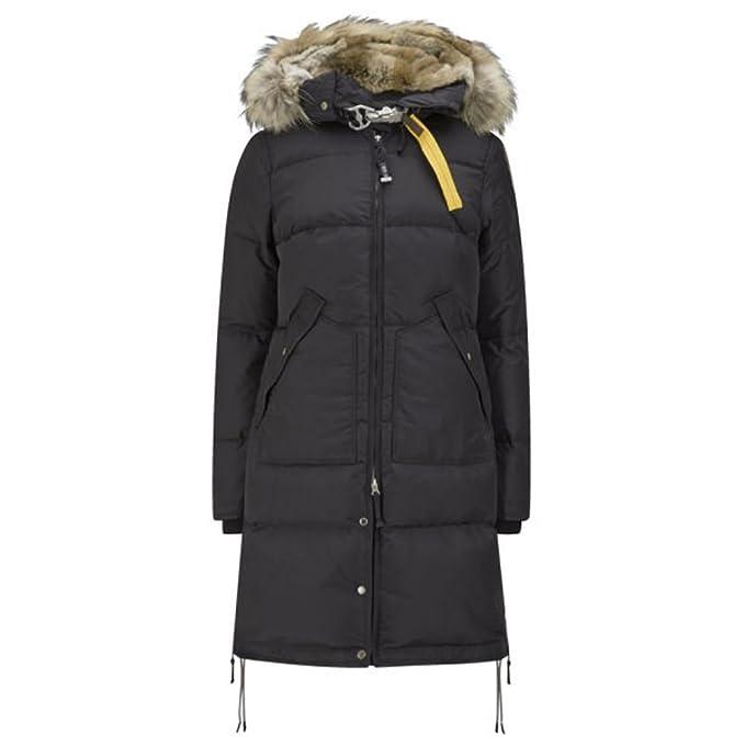 91bc99abb Parajumpers Long Bear Down Jacket - Black (Women) - XX-Large: Amazon ...