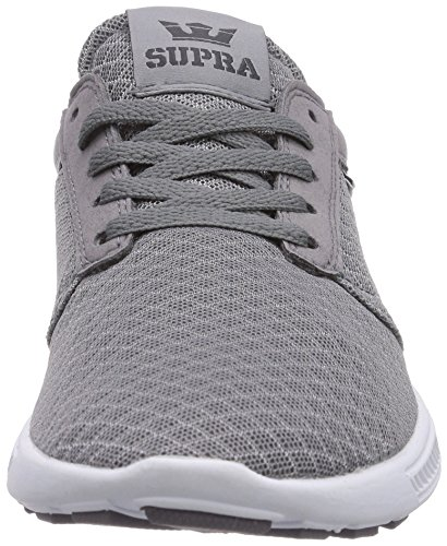 Supra HAMMER RUN - zapatilla deportiva de material sintético unisex gris - Grau (TITANIUM - WHITE     TTN)