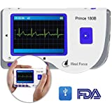 Heal Force Prince 180-B Easy Handheld Portable ECG Monitor, Software and USB Cable, [Importado de UK]