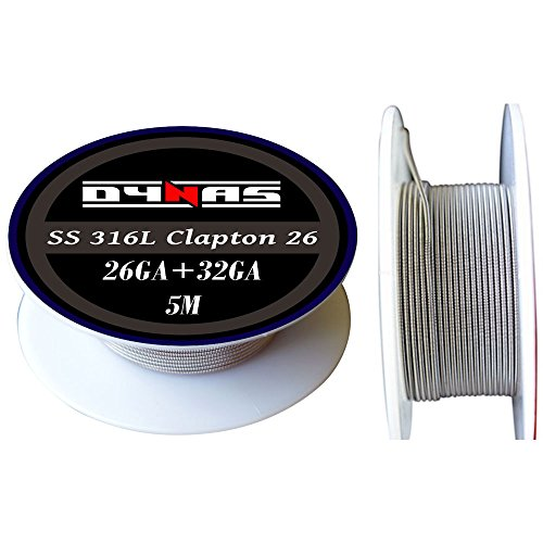 Dynas Clapton Wire Stainless Steel 316L (5m) 5 Meter Spool Various Sizes...