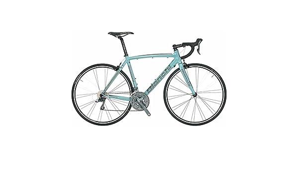 Bicicleta Bianchi Nirone 7 Claris Celeste Color Blanco Negro ...