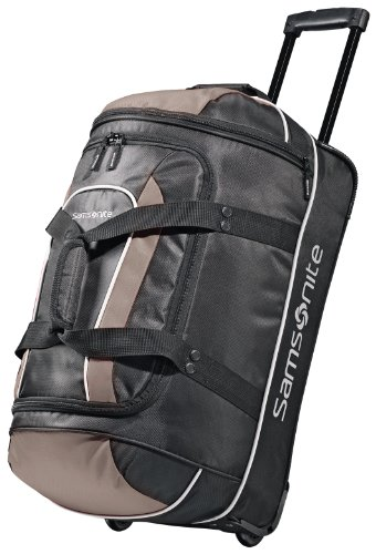 Samsonite Luggage Andante Wheeled Duffel 22, Black/Grey ()