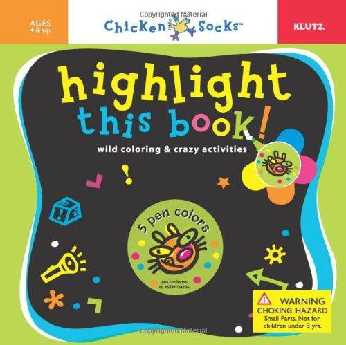Chicken Socks Highlight this Book Activity Book pdf epub