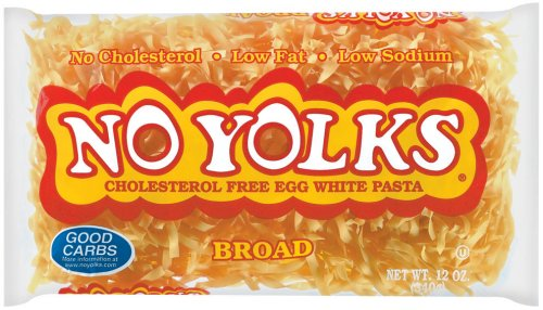 No Yolks Broad Egg Noodles, 12 Ounce