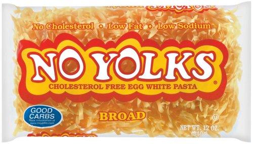 No Yolks Broad Egg Noodles, 12 Ounce