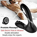 Prostate Massager Safe Electric Vibrator Wireless Remote Control Vibrating Massage USB Rechargeable Waterproof Powerful