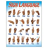 Trend Enterprises Sign Language, Learning Charts (T-38039)