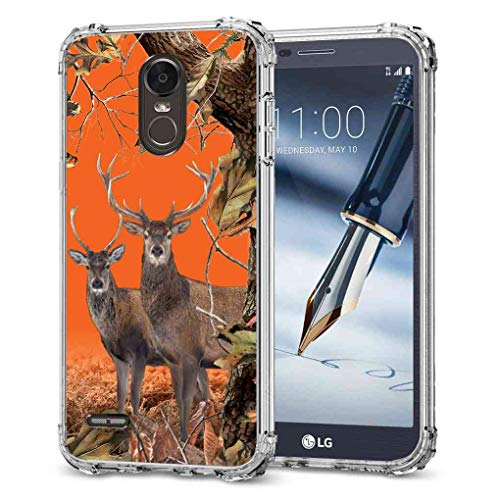 LG Stylo 3 Camo Case, BAYKE Slim Flexible TPU Bumper Cushion Protective Cover with Reinforced Corners for LG Stylo 3 Case, LG Stylo 3 Plus Case, LG Stylus 3 Case, LG LS777 Case (Phone Sony Ericsson Case)