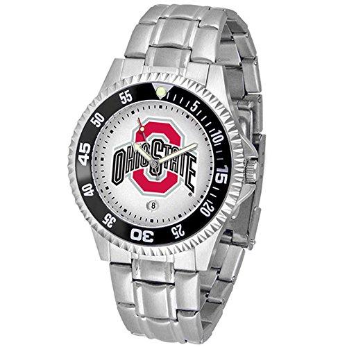 Linkswalker Mens Ohio State Buckeyes Competitor Steel Watch
