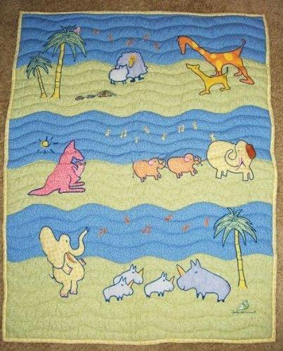 John Lennon Baby Blanket Quilt - Real Love / Musical Parade Keepsake by Lennon (Image #6)